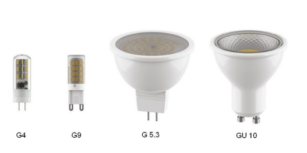 Лампочки со штырьковым типом цоколя