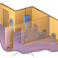 Однолинейная схема проводки в квартире