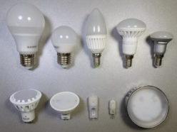 Типы цоколей ламп освещения