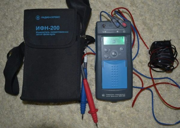Измеритель сопротивления ИФН-200