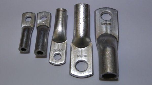 Кабельные наконечники алюминиевые