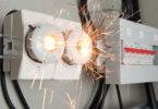 Короткое замыкание в электропроводке