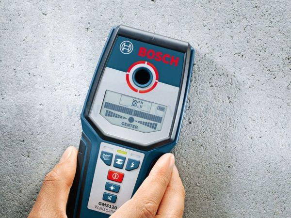 Металлоискатель Bosch GMS 120 Prof