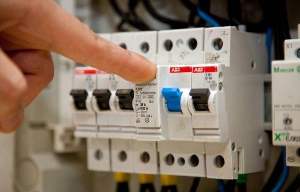 Обесточивание электросети перед началом работ