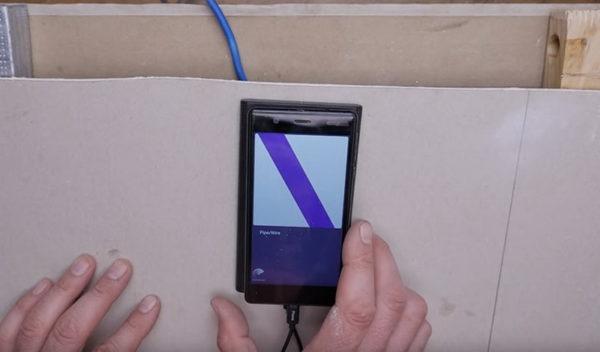 Поиск проводки с помощью смартфона