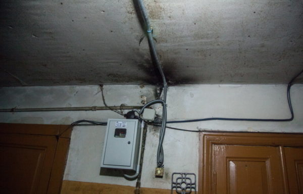 Проводка в старых домах
