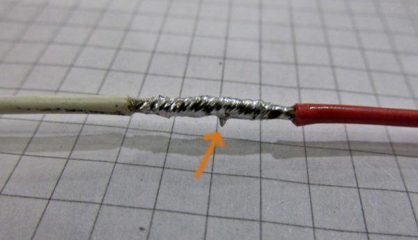 Соединение проводов пайкой
