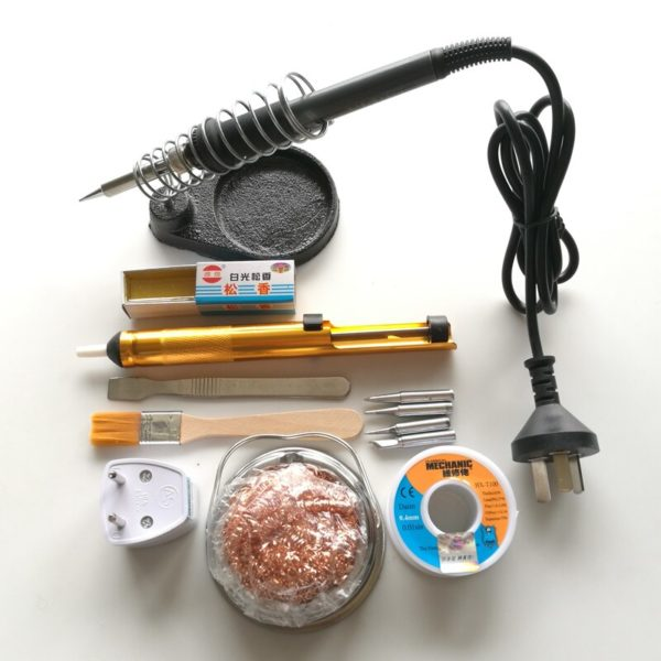 Инструменты и расходные материалы для пайки