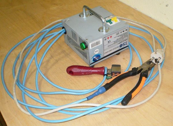 Инверторный прибор для электропроводки
