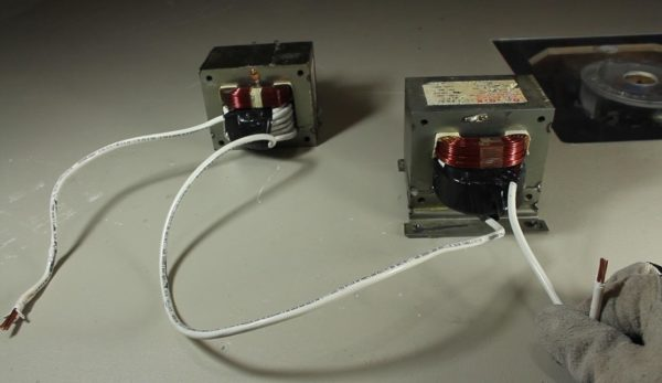 Понижающие трансформаторы для изготовления аппарата