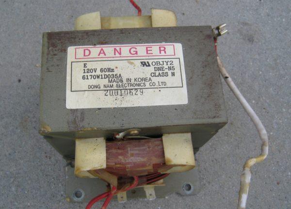 Трансформатор для точечной сварки