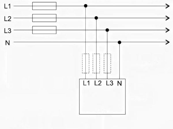 УЗИП для трехфазной сети TN-C