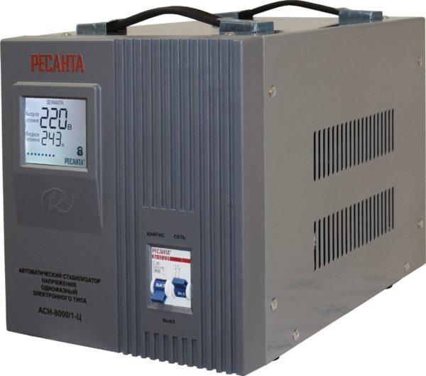 Автоматический однофазный стабилизатор электронного типа