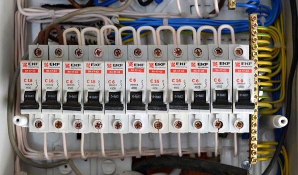 Разводка электропитания по потребителям