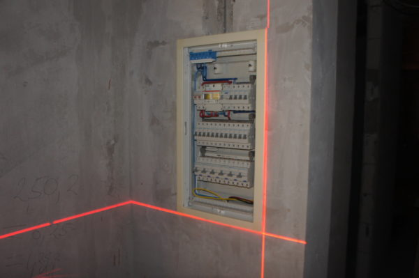 Выбор места для электрощита