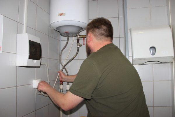 Удар током от водонагревателя