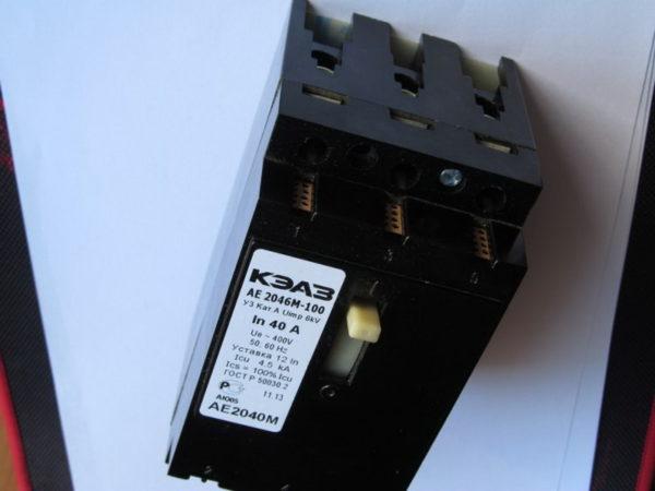 Выключатель-автомат малогабаритный АЕ 2046М