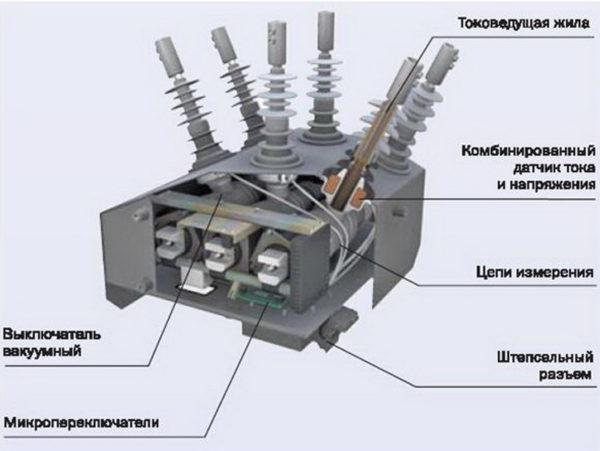 Коммутационный модуль реклоузера