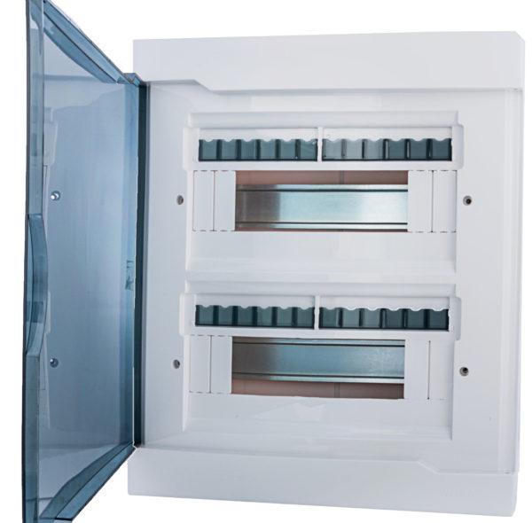 Корпус под два ряда автоматических выключателей