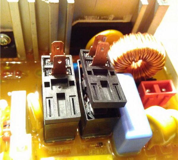 Реле в стиральной машине Samsung