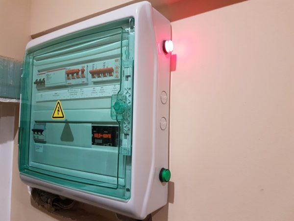 Защитный бокс для электрических автоматов