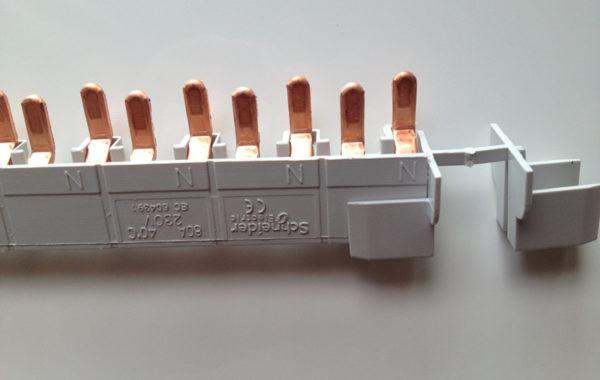 Шина гребенка для дифавтоматов Schneider Electric
