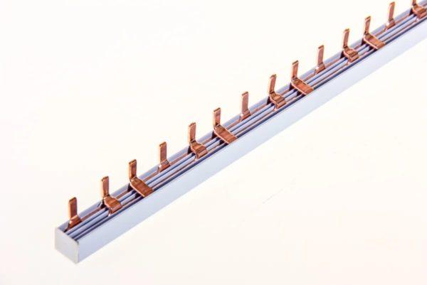 Штыревая соединительная шина для трехфазной сети