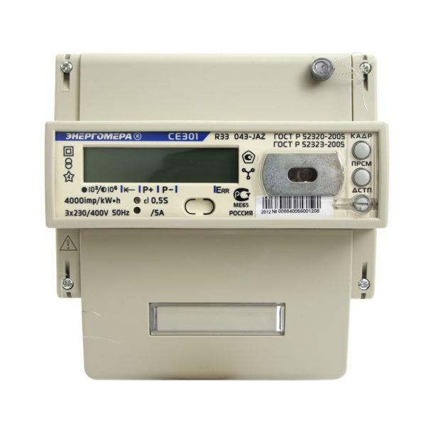 Энергомера Счетчик CE301 R33